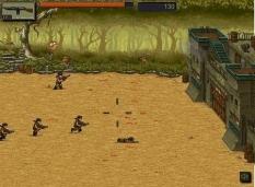 دانلود بازی دفاع از قلعه مقر جنگلی Jungle Rampage