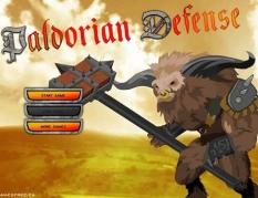 بازی دفاع از قلعه با تیر و کمان daloorian defence
