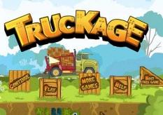 بازی مرحله ای رانندگی با کامیون truckage
