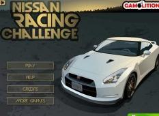 دانلود بازی مسابقه ماشین با ماشین های نیسان  آنلاین Nissan Racing challenge