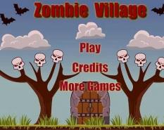 دانلود بازی مزرعه زامبی zombie village