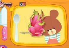 دانلود بازی آموزش آشپزی کیک میوه cook a fruit cake