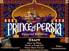 دانلود بازی پرنس پرشیا ورژن فلش برای کامپیوتر