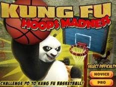 بازی کارتونی مسابقه بسکتبال با پاندا کونگ فو کاربه همراه دانلود