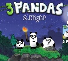 بازی آنلاین فکری و سرگرم کننده 3 پاندا pandas همراه دانلود