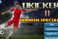 بازی آنلاین فوتبال پنالتی Dkicker 11 spanish speciall + دانلود