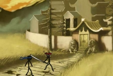 بازی آنلاین تلاش نینجا شینوبی شمشیرزن shinobi quest +دانلود