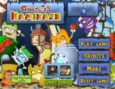 بازی پازل کارتونی خلبانان دلاور ژاپنی GreeMlins Kamikaze با دانلود