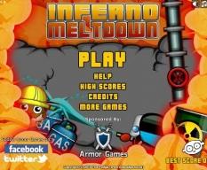 بازی آنلاین بحران آتش آتش نشان inferno meltdown بادانلود