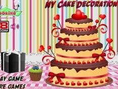 بازی انلاین تزیین کیک NY cake decoration با دانلود