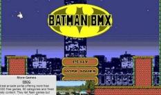 بازی آنلاین کودکان دوچرخه سواری بتمن batman bmx با دانلود