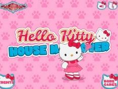 دانلود بازی سلام کیتی در خانه شلوغ hello kitty house makeover