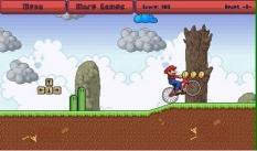 دانلود بازی آنلاین ماریو و دوچرخه mario BMX