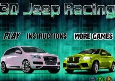 دانلود بازی آنلاین مسابقه ماشین جیپ ها 3D jeep racing