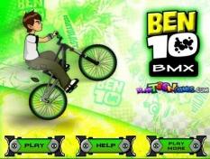 دانلود بازی آنلاین بن تن دوچرخه سوار Ben10 BMX