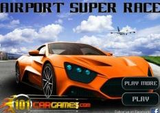 دانلود بازی ماشین آنلاین رالی در فرودگاه Airport super Race