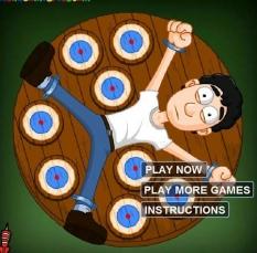 دانلود بازی آنلاین دارت گردون dart wheel
