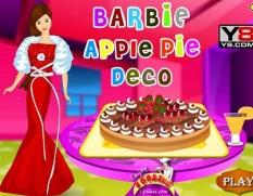 دانلود بازی تزیین پای سیب باربی barbie apple pie deco
