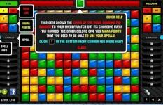 دانلود بازی آنلاین پازل مبارزه بر جواهرات gemwars