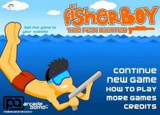 دانلود بازی پسرماهیگیر آنلاین fisher boy