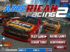 دانلود بازی آنلاین ماشین مسابقات آمریکا american racing 2