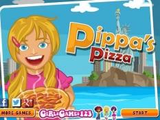 دانلود بازی آنلاین مدیریت پیتزا فروشی pippas pizza