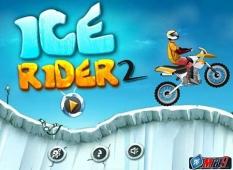 دانلود بازی جذاب و با مزه موتور سواری روی یخ Ice Rider 2