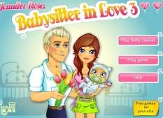 دانلود بازی پرستار بچه آنلاین babysitter in love 3