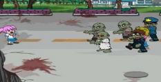 دانلود بازی آنلاین زامبی مبارزه با زامبی ها zombiesta