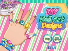 بازی آنلاین طراحی و مهارت در تزیین و زیبایی ناخن
