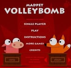 بازی آنلاین والیبال حیوانات