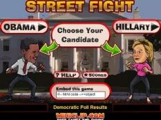 بازی نبرد اوباما و کلینتن
