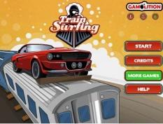 بازی سرعت حرکت بر قطار Train Surfing
