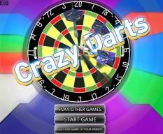 بازی دارت رکوردی- Crazy Darts
