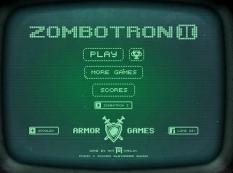 بازی هیجانی کشتار زامبی ZombotRon II