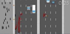 بازی عبور از بزرگراه
