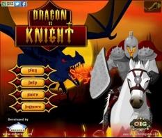 بازی شوالیه و اژدها Dragon vs Knights