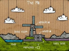بازی فرار از مکعب آسیاب -Cube Escape The Mill