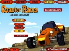 بازی ماشینی رکوردی -Coster Racer