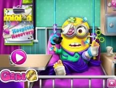بازی مراقبت از مینیون - minion hospital recovery