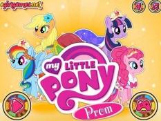 بازی دخترانه آرایش پونی کوچولو -My Little Pony