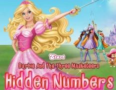 بازی اعداد گمشده ی باربی -Barbie Hidden Numbers