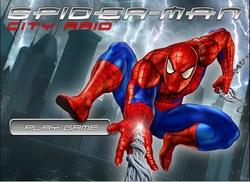 بازی فلش آنلاین اسپایدرمن در شهر -spiderman