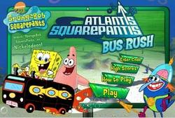 دانلود بازی فلش آنلاین اتوبوس باب اسفنجی sponge bob