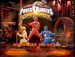 دانلود بازی فلش آنلاین مرحله ای و اکشن power rangers