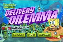 دانلود بازی فلش آنلاین اتومبیل رانی باب اسفنجی sponge bob