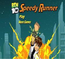 دانلود بازي فلش کم حجم مرحله اي دونده سريع Speedy Runner