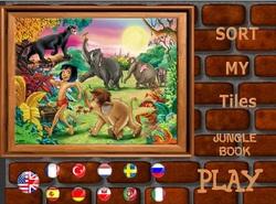 دانلود بازی فلش جورچین ساده و کودکانه کتاب جنگل jungle book