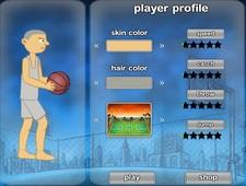 بازی فلش آنلاین مسابقه بسکتبال Woed Basketball Challenge