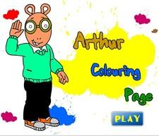 دانلود بازی فلش آنلاین نقاشی آرتورآسان برای خردسال-arthur colouring